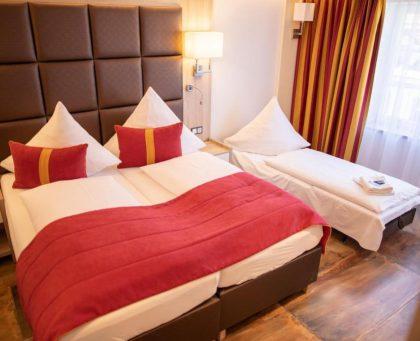 Hotel Ludwigs Deluxe Mehrbettzimmer