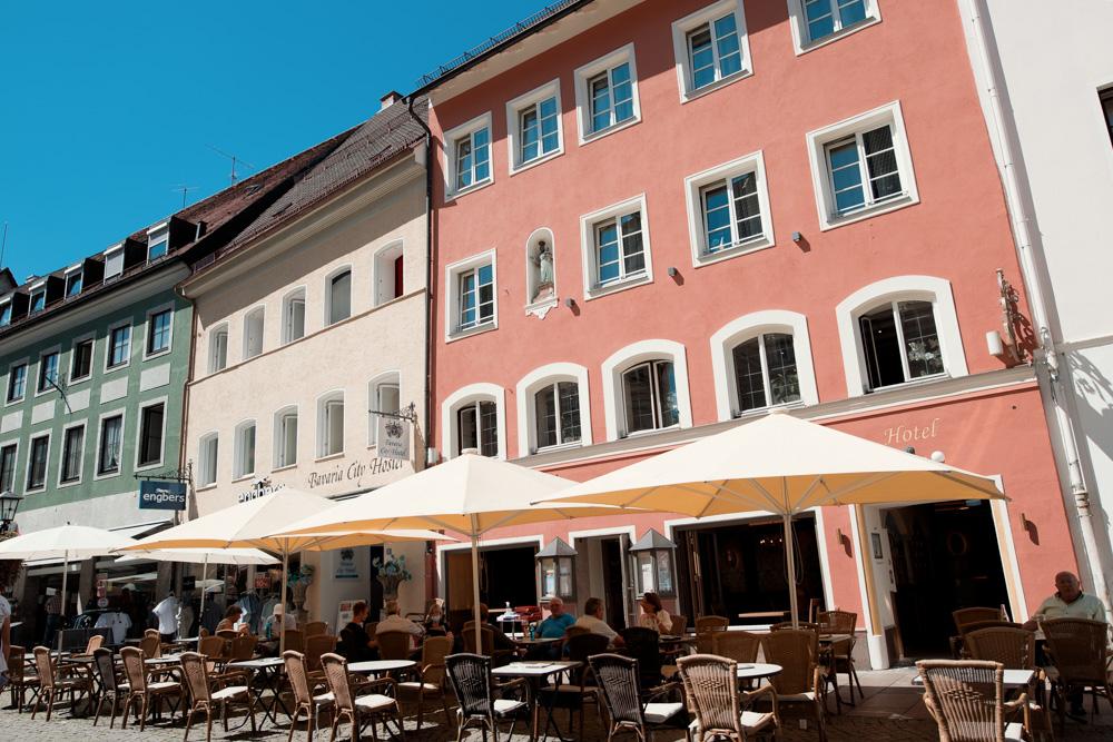 Hotel Ludwigs Füssen Außenbereich