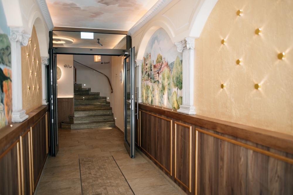 Hotel Ludwigs Füssen Eingangsbereich